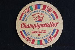 Sous Bock / Bierviltjes / Coasters,  Brasserie / Brouwerij -  Reine Des Bières Champigneulles - Sous-bocks