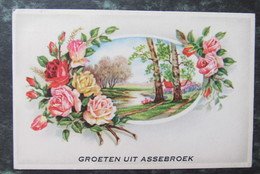 Cp/pk Groeten Uit Assebroek 1955 - Brugge