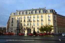 Paris XVII (75)- Caserne De Pompiers: Boulevard De L'Yser (EDITION A TIRAGE LIMITE) - District 17