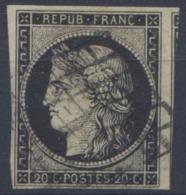 France - Cérès - N°3 - Oblitéré - Un Voisin - (F202) - 1849-1850 Ceres