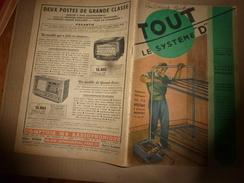 1950 TLSD :Faire -> Auto 2 Places;Moteur Pour Vélo;5 Machines-outils En 1;Ponte Des Poules;Surface En Béton;Antenne;etc - Bricolage / Technique