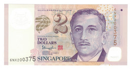 Singapour, 2 Dollars, 2005, KM:46h, NEUF - Singapore