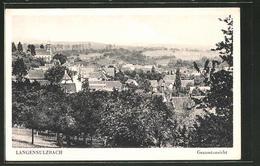 CPA Langensulzbach, Vue Partielle Avec Vue Sur L'Église - Sin Clasificación