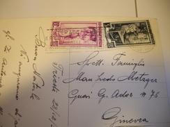 TRIESTE  Carte Postale 1952 Pour La SUISSE   GENEVE - Storia Postale