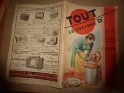 1950 TLSD :Construire ->Salon+S-Jeu En S-Sol;Machine A Coudre-Scie;Culture Sans Sol;Chimi-coloration-Alu;Accorder Piano; - Bricolage / Technique