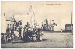 Cpa Maroc, Casablanca - Rue Krantz - Casablanca