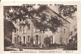 CHARNAY LES MACON. BETHANIE. MAISON DE REPOS. DOMAINE DE LA CROIX MADELEINE - France