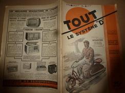 1949 TLSD :Construire ->Voiture-camping;Canot Pneumatique;Cadran Solaire;Ajouter 1 Terrasse-balcon;Scooter Avec Vélo;etc - Bricolage / Technique