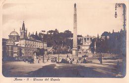 ITALIA - ROMA, PIAZZA DEL POPOLO - Places & Squares