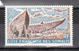 COTE DES SOMALIS YT POSTE AERIENNE 38 Neuf ** - Nuovi
