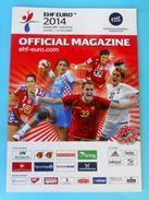 WOMEN'S EHF EURO 2014. - Official Handball Programme * Programm Programma Programa Hand-ball - Handball