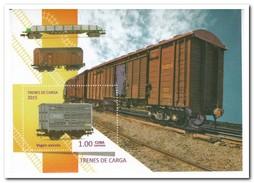 Cuba 2015, Postfris MNH, Trains - Ongebruikt