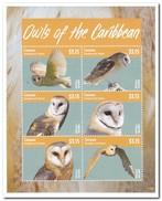 Canouan 2014, Postfris MNH, Owls - St.-Vincent En De Grenadines