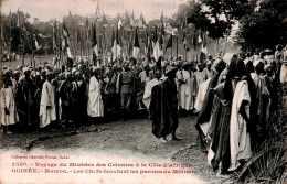 CPA Le Voyage Du Ministre Des Colonies à La Côte D' Afrique , Les Chefs écoutant Ses Proles à Mamou, Guinée Code Postal - Guinea