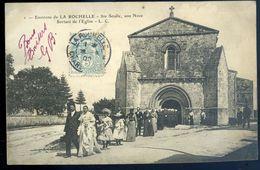 Cpa  Du 17  Environs De La Rochelle Ste Soulle , Une Noce Sortant De L' église    NCL95 - La Rochelle