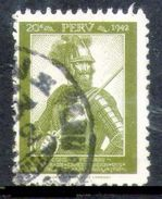 PERÚ-Yv. 379-N-9554 - Pérou