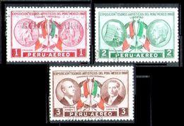 PERÚ-Yv. A 172-174-Serie Completa -N-9566 - Peru
