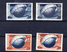 1949...   Russie 1949, U.P.U., 1366 / 1367** + Nd**, Cote 34 €, - U.P.U.