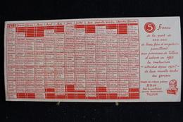 Buvard - 5 Francs Au Paroissient ( Pour La Nouvelle école ) Abbé Fernand Michel Oeuvres Paroissiale, Tilleur, Liège 1953 - Banque & Assurance