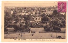 (76) 038, Le Havre, Forestier 129, Jardin De L'Hotel De Ville Et Rue De Paris - Unclassified
