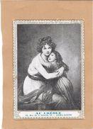 CHROMOS  CAFES VERTS Et TORREFIES AU CREOLE à ALGER - Portrait De L'Auteur Mme Vigée Lebrun  - ENCH2906/358 - - Tea & Coffee Manufacturers