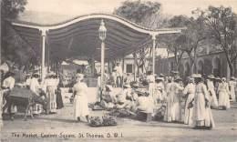 VIRGIN ISLANDS / St Thomas - The Market - Casimir Square - Beau Cliché Animé - Vierges (Iles), Amér.