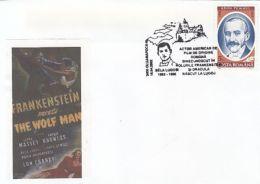 ACTORS, BELA LUGOSI, FRANKENSTEIN, DRACULA, SPECIAL COVER, 2002, ROMANIA - Actors