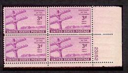 1944 - U.S. # 924 - Block Of 4 - Mint VF/NH - United States