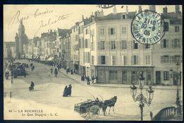Cpa  Du 17 La Rochelle - Le Quai Duperré   NCL94 - La Rochelle