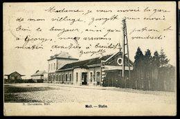Cpa  De Belgique Moll Statie   ...  Mol Anvers Gare Station Train  NCL94 - Mol