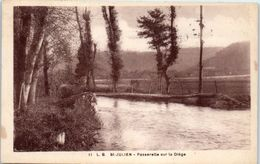 19 - SAINT JULIEN --  Passerelle Sur La Diège - Frankrijk