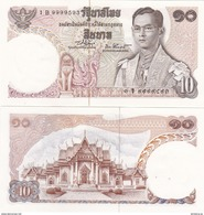 Thailand - 10 Baht 1969 Pick 83 UNC Lemberg-Zp - Thailand