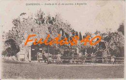 CPA.  QUAREGNON.  Grotte De N-D De Lourdes, à Monsville.      191?. (animée) - Quaregnon