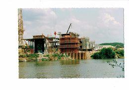 Cpm - 21 -TILLENAY - Côte D´Or -  1992 - Construction Pont - Autoroute A39 - TRAVAUX Dodin GRUE - France