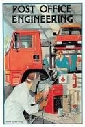 Post Office Engineering, Truck, Auto, Car, Richard Blake - Passenger Cars