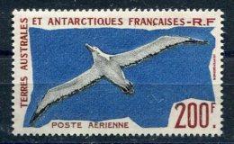 3281  -  TERRES AUSTRALES ET ANTARCTIQUES FRANCAISES  PA 4 **  200F Rouge-brun,bleu Et Noir     SUPERBE - Posta Aerea