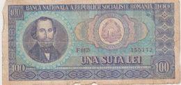 ROUMANIE 100 Lei 1966 P97a VG - Roumanie
