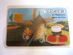 RARE TELECARTE CARTE TELEPHONIQUE LEGION ETRANGERE 4° RE ETAT EXCELLENT DANS UNE POCHETTE - Army