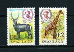 Swaziland  Nº Yvert  219/20  En Nuevo - Swaziland (1968-...)