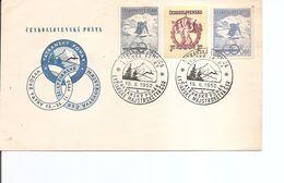 Tchécoslovaquie -Ski( FDC De 1950 à Voir) - FDC