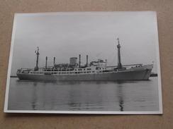 "MS "" LEOPOLDVILLE "" Compagnie Maritime Belge CMB - Anno 19?? ( Zie Foto Voor Details ) ! - Handel"