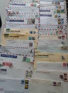 ASIE -  Petit Lot De 28 Enveloppes De Taiwan, Hong-Kong Et Japon - Vrac (max 999 Timbres)