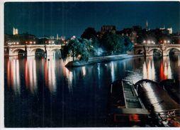 Paris- - La Pointe Du Vert-Galant Et Le Pont-Neuf - Paris By Night