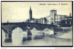VERONA - PONTE PIETRA E S. ANASTASIO - Verona