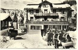 DAVOS MONSTEIN Kurhaus C. Buol-Calonder VW-Bus Pferde-Schlitten - GR Graubünden