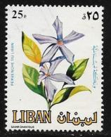 Lebanon, Scott # 483 Used Flowers, 1984 - Liban