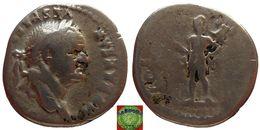 Roman Empire - AR Denarius Of Vespasian (69-79 AD), COS VIII, Mars - 2. Les Flaviens (69 à 96)