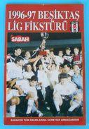 BESIKTAS JK - 1996/97. Lig Fiksturu Football Programme & Guide * Soccer Fussball Programm Turkey Turquie Türkei Turquia - Bücher