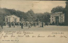 BE BRUXELLES  / L'entrée Du Bois /  Nels Série 1 N° 58 - Belgium