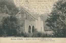BE  BUZENOL / Ruines Des Anciennes Forges / - Etalle